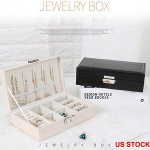 US Portable Travel Jewelry Box
