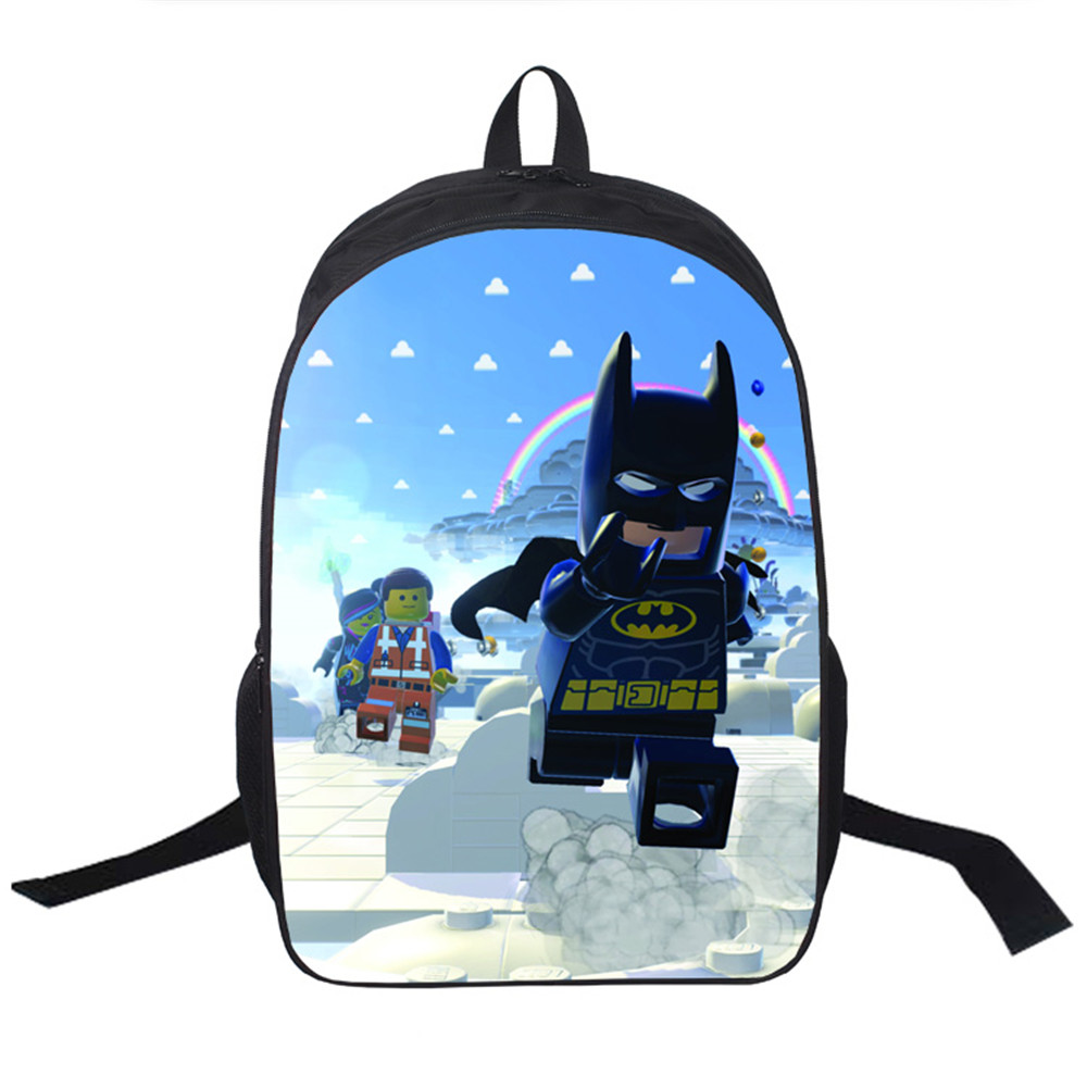 2017 Women Bags Moive Lego Star Wars Backpack Students -1434