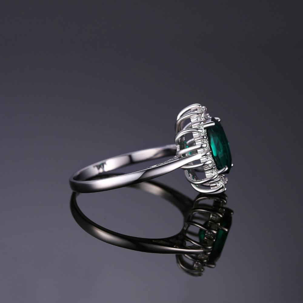 Jewelrypalace Princess Diana Qadınlar üçün İncə 925 Sterling - Gözəl zərgərlik - Fotoqrafiya 4