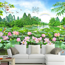 Buy Lotus Flower Wallpaper And Get Free Shipping On Aliexpresscom