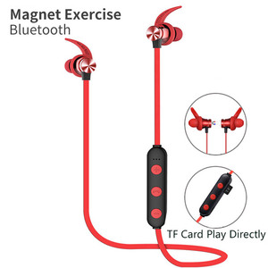 Image 3 - Bluetooth Headphone Wireless Earphone Bluetooth Headset Sport Hanging Neck with Microphone for android iphone xiaomi