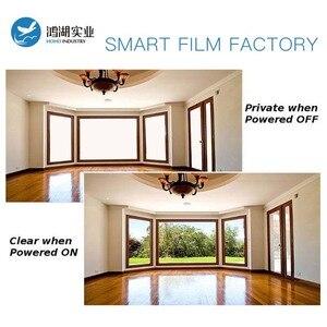 Image 2 - SUNICE PDLC חכם סרט פרטיות חשמלי חכם זכוכית להחלפה דבק חלון גוון עבור בית, משרד לקוחות מותאם אישית