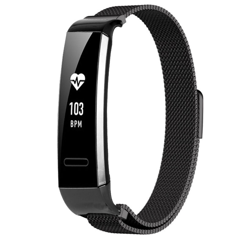 Milanese loop strap for huawei Band 2 Pro magnetic buckle adjustable size bracelet huawei honor b19/29 Replacement wristband