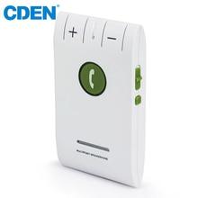 купить Car Bluetooth Speaker FM Transmitter Handsfree Calling MP3 Audio Adapter Car Kit Support Connect Two Phones Play Music by CDEN по цене 1088.28 рублей