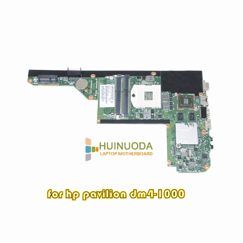 SPS 630713-001 laptop motherboard For HP Pavilion DM4 DM4-1000 HM55 DDR3 ATI HD6370 Graphics Mainboard 609787 001 free shipping laptop motherboard for hp pavilion dv7t dv7 4000 hm55 ati ati hd5470 512 ddr3 da0lx6mb6h1