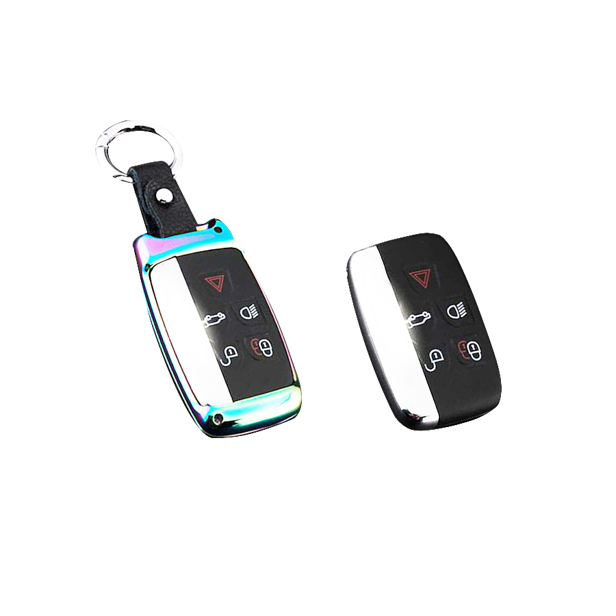 Replace Key Shell Zinc Alloy Car Key Cover Case Shell Keycase fit for LAND Range ROVER LR4 Smart Remote Key 5 BTN