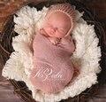 Новорожденный обертывания фотографии реквизит обертывание одеяла гамак Swaddlings обивка Nubble обертывания