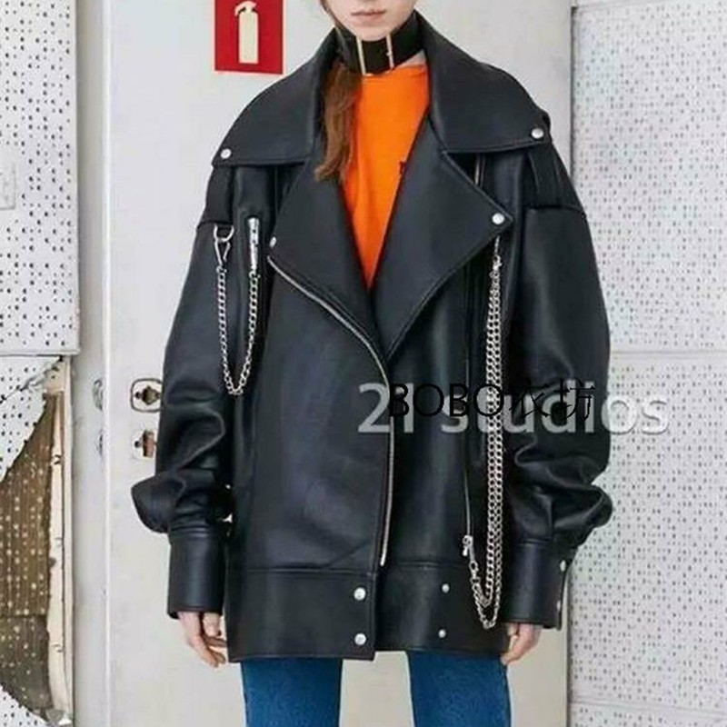 oversize-leather-jacket-2016-motorcycle-PU-leather-jacket-handsome-men-and-women-jacket-Jaqueta-couro-drop
