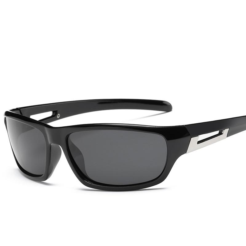 HJYBBSN 5 Styles Sport Sunglasses Polarized Men Women Brand Designer Driving Fishing Polaroid Sun Glasses Black Frame UV400