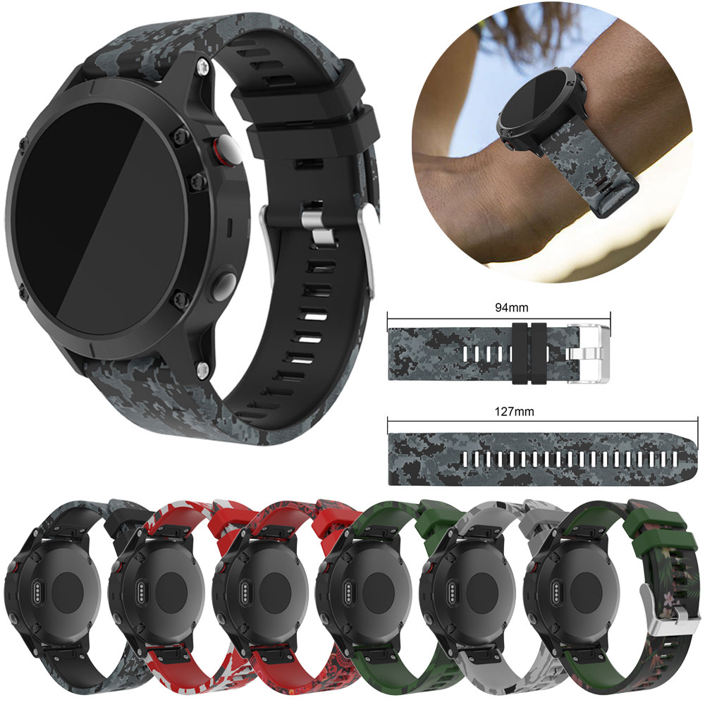 newNew Coming Lovely Replacement Silicagel Soft Quick Release Kit Band Strap For Garmin Fenix 5 GPS Watch fitness tracker new replacement silicagel soft quick release kit band strap for garmin fenix 3 hr fenix 3 gps watch drop shipping 0629