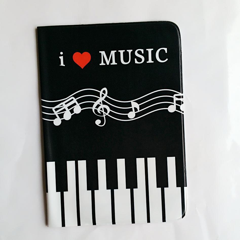 5e59dfe745a53 3D Tasarım Piyano Tuşları PU ve PVC Deri kredi kart tutucu, Seyahat Pasaport  Tutucu, 14*9.6 cm Kılıf kapak için pasaport erkekler