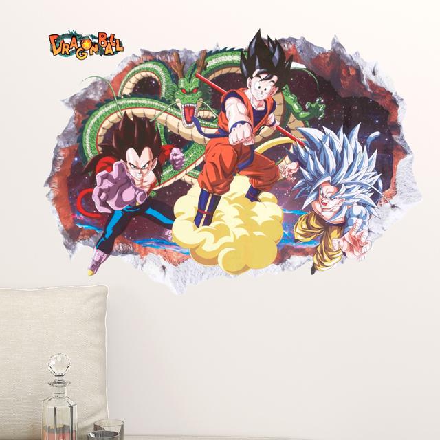 Dragon Ball Z Removable Wall Sticker