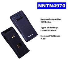 74 v 1800mah литий ионный аккумулятор радио nntn4970 для motorola