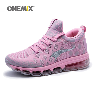 Onemix Running Shoes for Women Walking Sneakers Pink Women Jogging Shoe Trainers Sport Shoe for outdoor jogging Athletic Sneaker