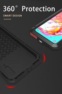 Image 3 - สำหรับSamsung Galaxy A70กรณีกันกระแทกกันกระแทกเกราะโลหะฝาครอบสำหรับSamsung A70กันน้ำ
