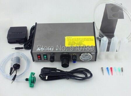 Auto Glue Dispenser Solder Paste Liquid Controller Dropper  PCB Solder Paste Fluid dispenser dhl/fedex shipping klt 982a solder paste glue dropper liquid auto dispenser controller black