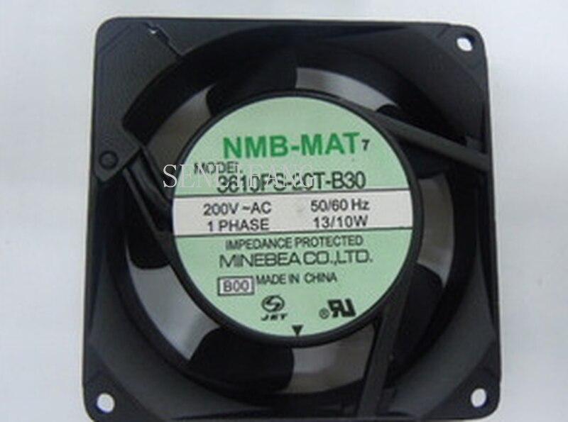 Free Shipping Original 3610PS-20T-B30 AC200V 90mm*90mm*25mm NMB 9 Cm Double Ball AC Cooling Fan