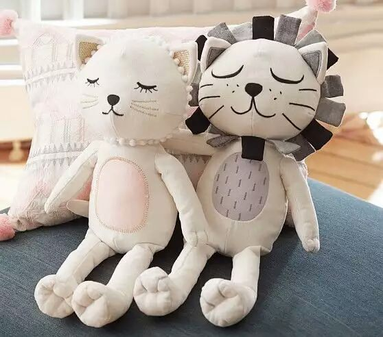 Baby Pillow Kids Stuffed Toys Girl Boy Lion Cat Shape Dolls Chilren Room Decorative Coussin Enfant Photography Props almohadilla