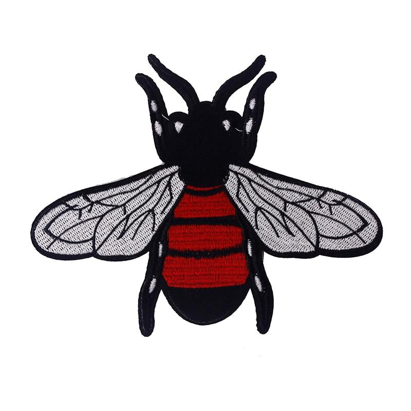 10dílné včelí zvířecí oblečení Náplasti Vyšívací náplasti Diy Řemesla Oblečení Šicí Nášivka Šicí příslušenství TH251