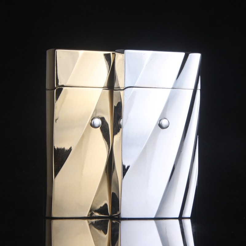 2016 metal font b electronic b font induction windproof lighter Creative metal lighters men s gifts