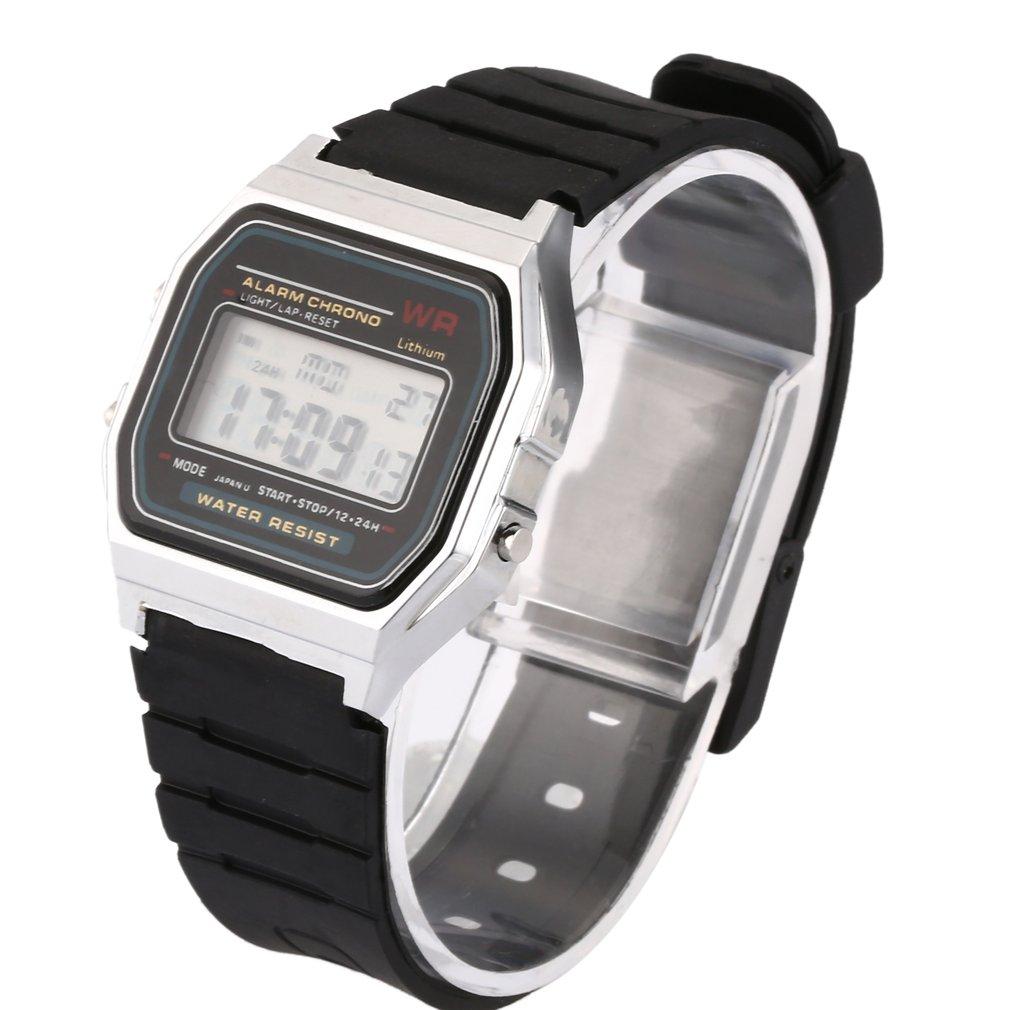 Multi-function LED watch Fashion Retro Nostalgic Style fashion Creative design simple watch Compressive