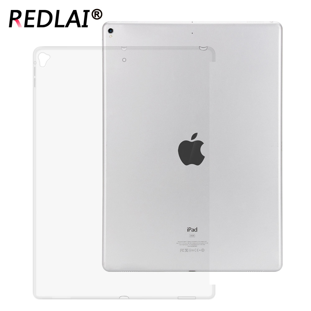 Redlai For iPad Pro 12.9 2017 case,Clear Case for iPad Pro 12.9 Case A1670  ( can with Smart Cover and Keyboard Compatible )