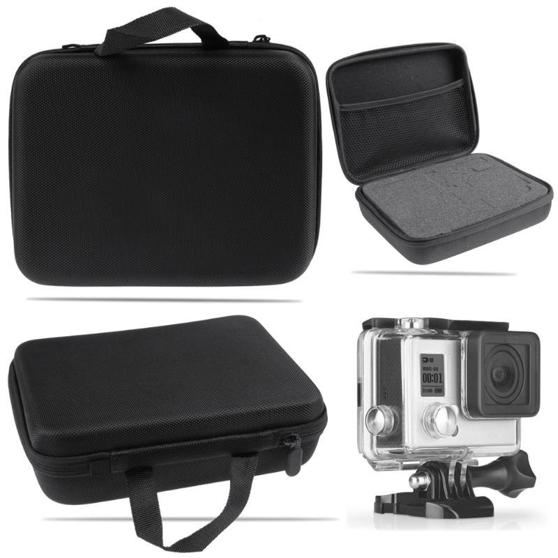 Sac de rangement de protection Carry Case pour Gopro Hero 5 4 3 + 3 2 1 pour Sjcam Sj4000 SJ5000 SJ6000 pour xiaomi caméra d'action yi Acc