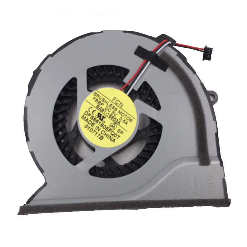 Brand NEW Laptop Cooling Fan for SAMSUNG NP550P5C NP550P7C 2Z12N5R CPU Cooler/Radiator Repair Replacement