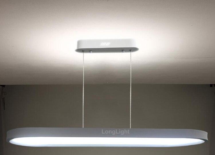 Semplice ultrasottile modern led lampadario illuminazione acrilico