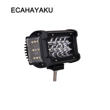 ECAHAYAKU new design 270 degree 70W 5.5 inch led work light bar off road for jeep truck ATV UAZ car styling fog driving lights