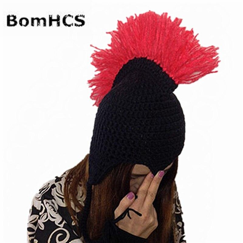 BomHCS Legal Novidade Hippie Rocha Nepal Handmade Gorro de Malha Dos Homens  de Chapéu de Inverno Cap Quente Presente em Skullies   Gorros de Acessórios  de ... d781b2321eb
