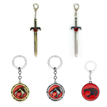 Thundercats Sword Alloy Pendent High Quality Keyring Keychain Gift For Man Woman Fans Movie Jewelry Souvenirs Dropshipping