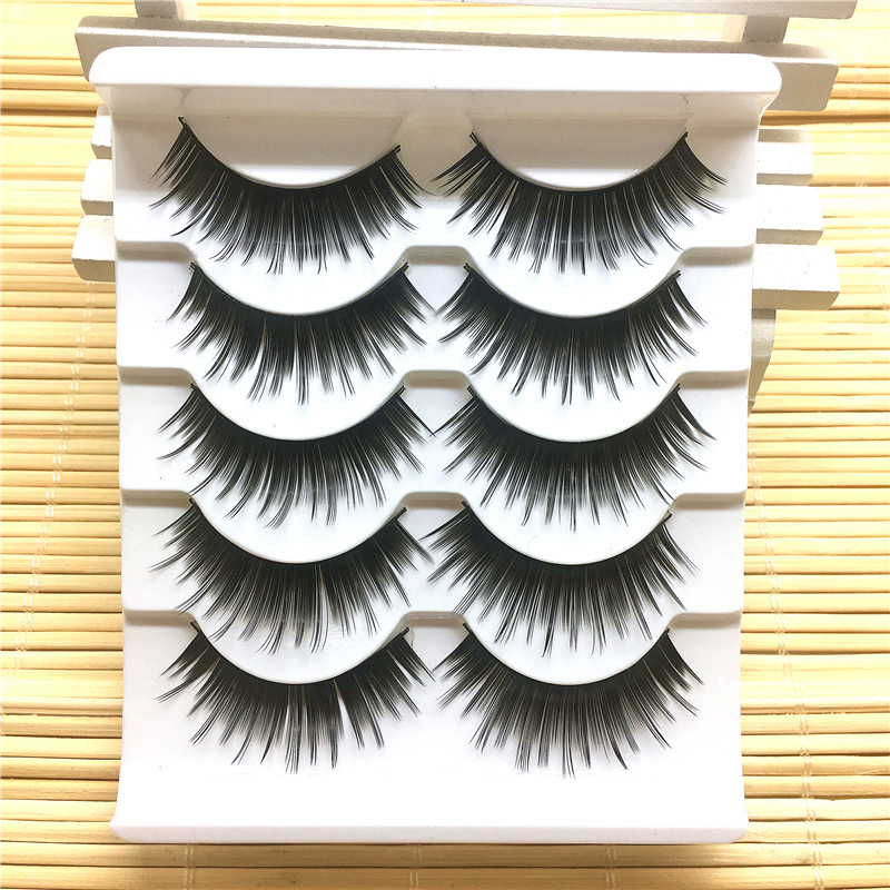 In Design; The Cheapest Price 5 Pairs Fashion New Handmade Black Thick False Eyelashes Long Fake Eye Lashes Extention Beauty Makeup Tools Novel