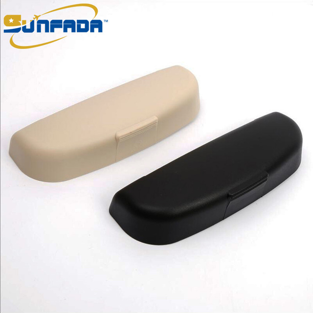 SUNFADA Car Glasses Holder Sunglasses Storage Box Case Replacement Parts For VOLVO XC60 T4 T5 T6 T8 2017-2019 Car Accessories