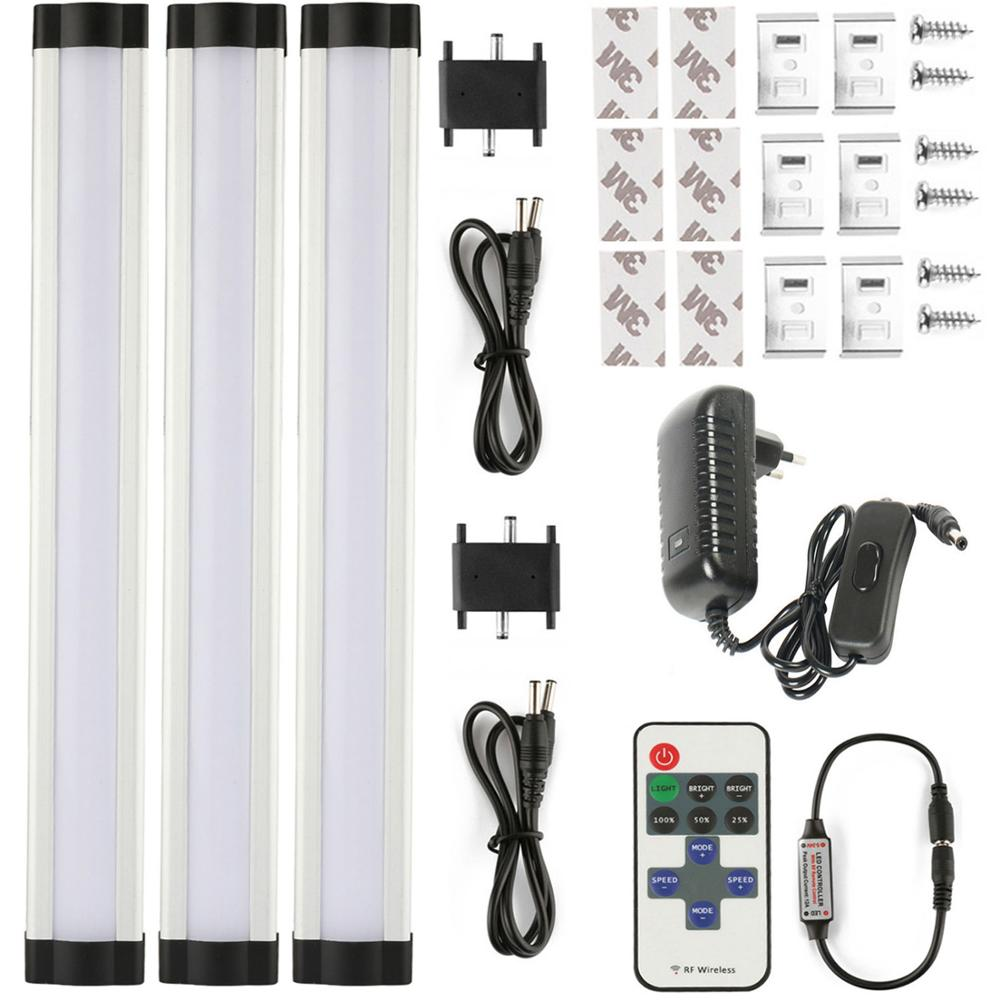 LED Strip 3p set 110 240V SMD2835 warm white white 0 3M 3W EU US with