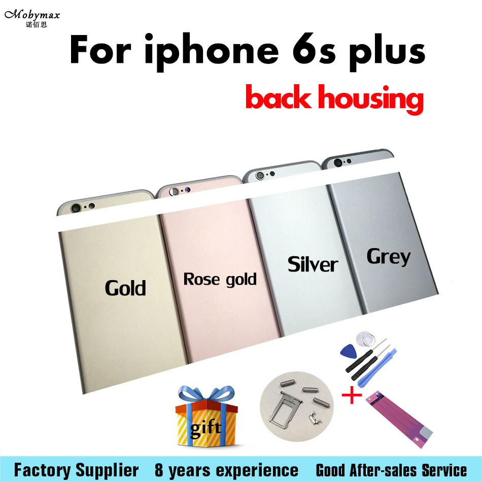 top quality Good Replacement For IPhone 6S Plus Back Housing Battery Cover Door Rear Cover Chassis Middle Frame Can Custom IMEI