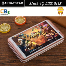 8 polegada Tablet M1S Computador Octa Núcleo De Metal shell Tablet Android Pcs 4G LTE mobile phone android Rom 64 GB tablet pc 8MP IPS(China (Mainland))