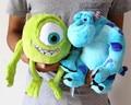 Envío gratis 2 unids/lote 25 cm Monsters universidad Mike Wazowski + James p. Sullivan sulley felpa juguetes de peluche muñeca