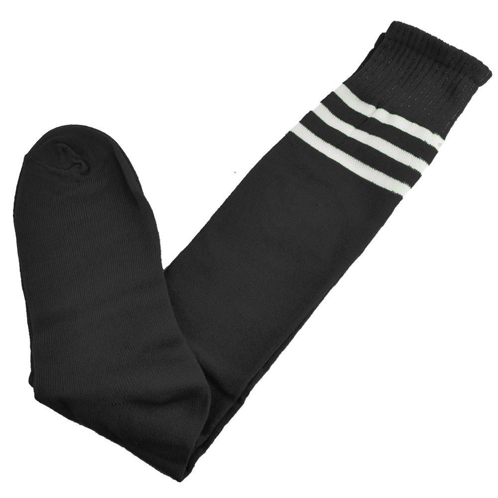 HOT SALE Basenall Knee High Ankle Men Women Socks With Black White Stripes
