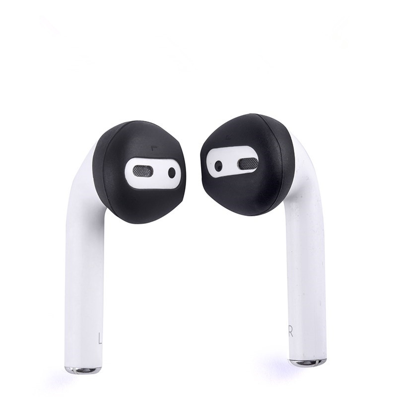 Image 5 - 4Pairs Anti slip Ultrathin Soft Silicone Ear Tips Earphone Earbuds  Replacement Cover Upgraded for Apple Airpods Earphone-in Earphone Accessories from Consumer Electronics