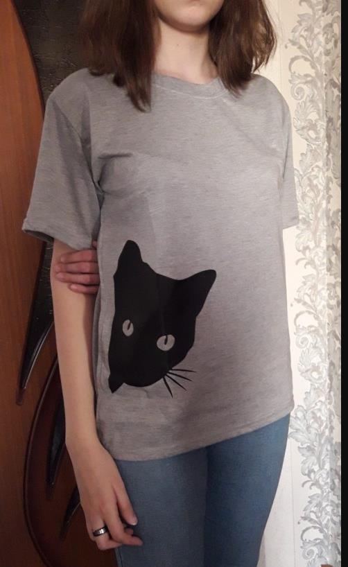 Cotton Casual Funny Printed T Shirt 12