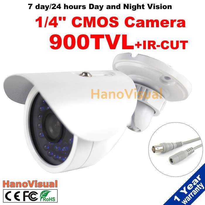 ФОТО Security Surveillance Camera IRCUT Filter Night Vision 30 IR Leds 900TVL Dome CCTV Camera Outdoor Waterproof IR Metallic Camera