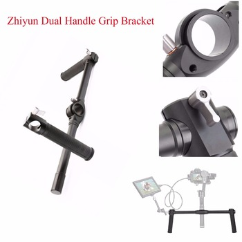 Zhiyun Dual Handle Grip Bracket for Zhiyun Crane 2 3-Axis Stabilizer Gimbal,Handheld Handlebar for Zhiyun 3-Axis Gimbal