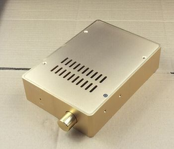 hot sale power amp chassis/home audio DIY amp case size height 160 X width 55 X deep230