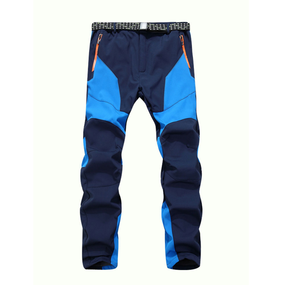Winter Men Warm Softshell Fleece Pants Skiing Snowboard Outdoor Sport Hiking font b Trousers b font