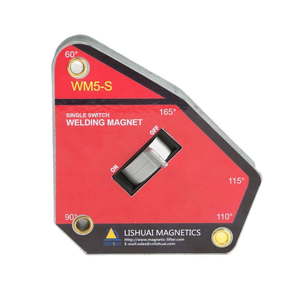 Multi-угол 60/90/110/115/165 градусов магнитные Сварка приспособление Супер всасывания сварки внешний угол локатор Switch control Магнитная