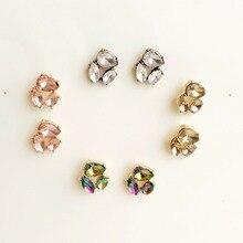 SG-es20901/TRACYSGER/высокое качество многоцветный кристалл горячая продажа смарт-серьги