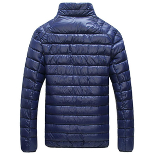 Image 4 - Chaqueta de plumas de pato blanco para hombre, Parkas portátiles ultraligeras, abrigo informal cálido a prueba de viento, prendas de vestir, 5XL, 6XL, 2020