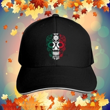 México bandera azúcar cráneo Unisex gorra ajustable gorra de béisbol  deportes gorra sombrero ... 601cba301d8