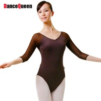 2016 New Women Gymnastics Leotard 6 Colors Adult Ballet Leotard For Practice Lady Ballet Clothing Body